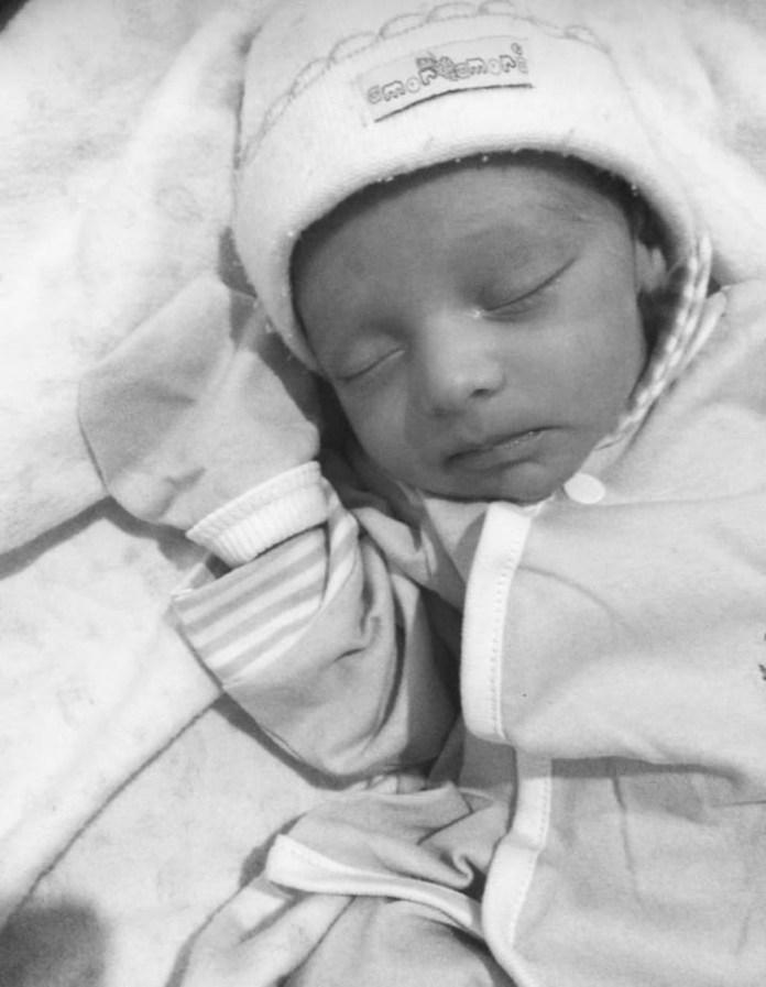 Bebê foi encontrado morte em casa, em Ecoporanga — Foto: Arquivo Pessoal