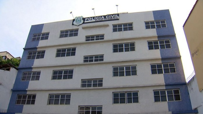 Delegacia Patrimonial em Vitória, onde fica a Delegacia Especializada de Repressão aos Crimes Cibernéticos (DRCC)