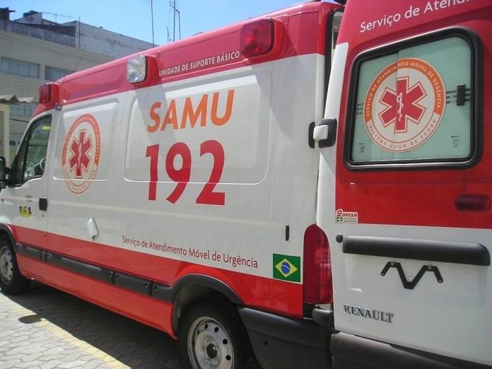 Ambulância do Samu — Foto: Divulgação/Sesa