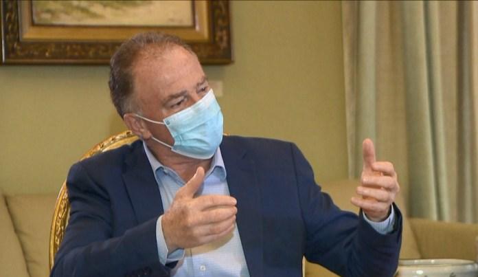 Renato Casagrande em entrevista exclusiva à TV Gazeta