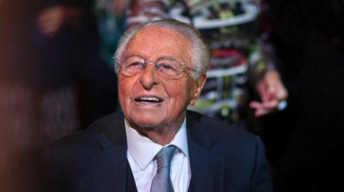 Morre o empresário do setor cafeicultor Jônice Tristão, aos 90 anos. — Foto: Reprodução/Tv Gazeta
