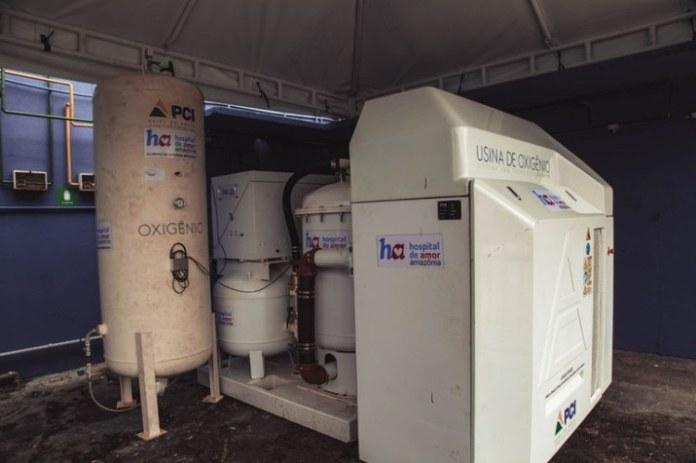 Amazonas já tem 30 usinas geradoras de oxigênio instaladas