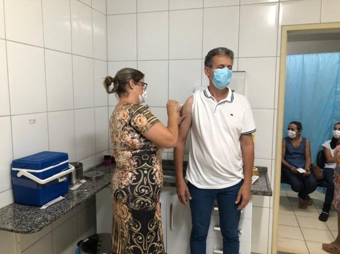 Rio Bananal recebe novas doses de vacina contra Covid-19 e recomeça vacinação, no Norte do ES — Foto: Divulgação/ Prefeitura de Rio Bananal