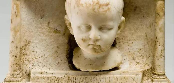 Cemitério romano do século IV d.C