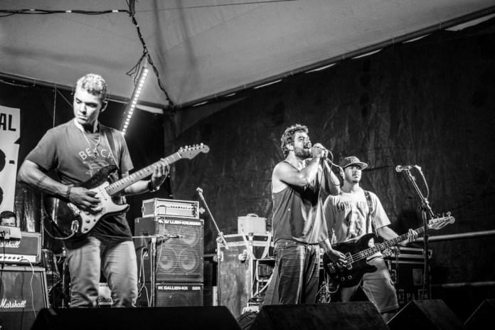 Banda Adiós, Me Voy! no Festival Voadora — Foto: Divulgação/Festival Voadora