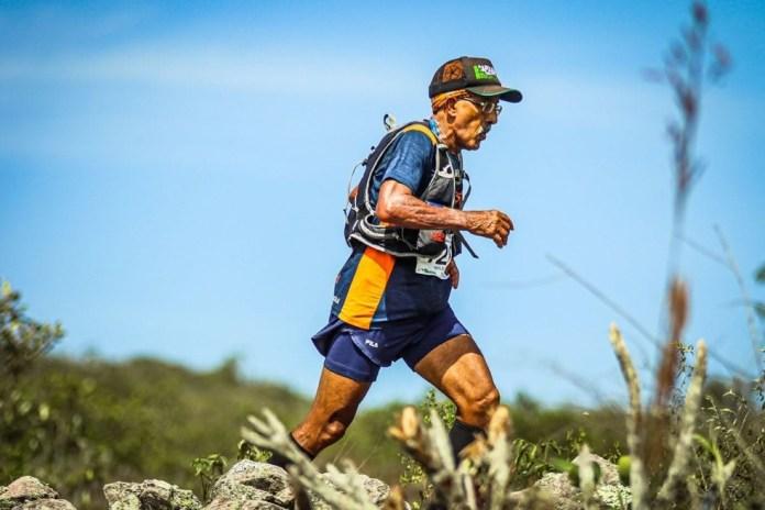 Wilson Carioca percorreu 70 km para comemorar aniversário de 70 anos — Foto: Arquivo Pessoal