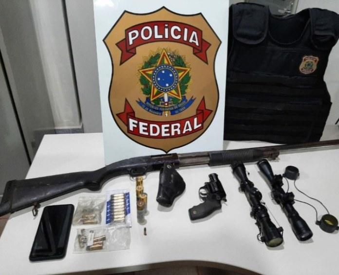 PF combate tráfico internacional de armas
