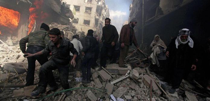 EUA atacam posições iranianas na Síria