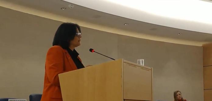Damares Alves na ONU