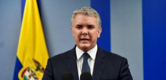 O presidente da Colômbia, Iván Duque