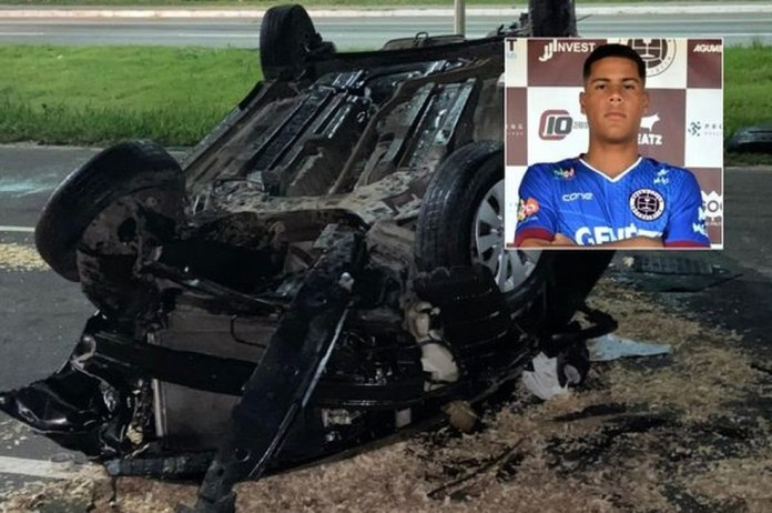 Ex-goleiro de times do ES morreu em acidente aos 21 anos — Foto: Reprodução/ge