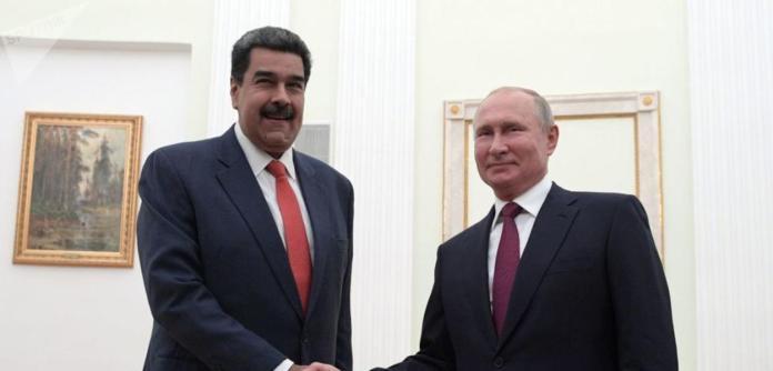 Nicolás Maduro e Vladimir Putin