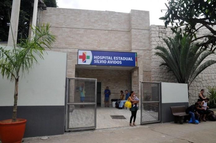 Hospital Silvio Ávidos, em Colatina — Foto: Reprodução/A Gazeta
