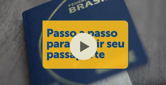Vídeo como obter o passaporte