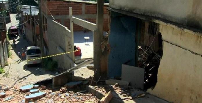 Vazamento de gás provocou explosão em Cariacica