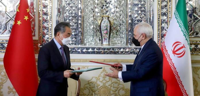 Mohammad Javad Zarif e Wang Yi