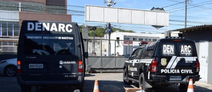 Departamento Especializado em Narcóticos (Denarc) — Foto: Divulgação/Polícia Civil