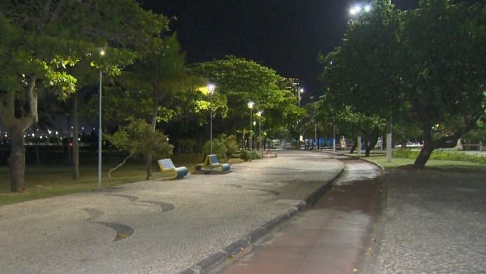 Tentativa de assalto aconteceu na Praia da Guarderia, em Vitória