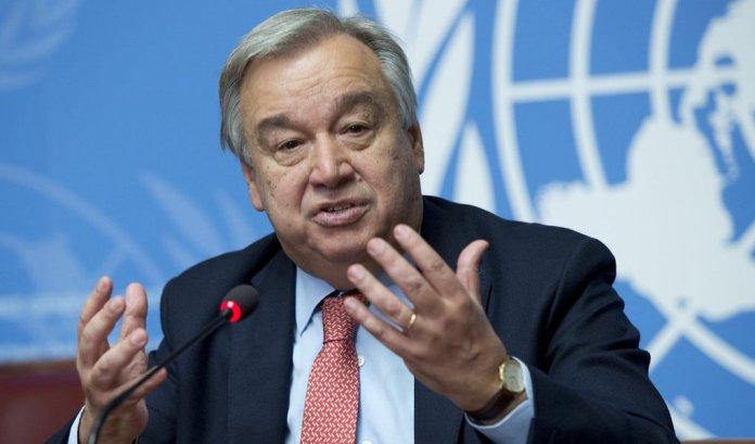 António Guterrez, Secretário-geral da ONU