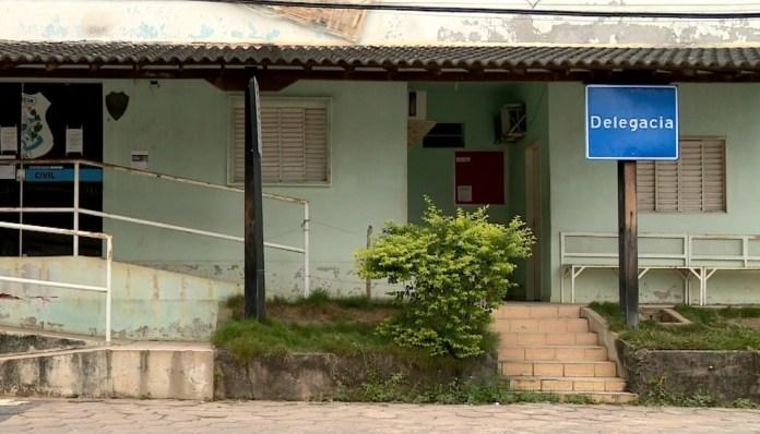 Caso foi registrado na Delegacia de Ecoporanga, no ES — Foto: Reprodução/ TV Gazeta