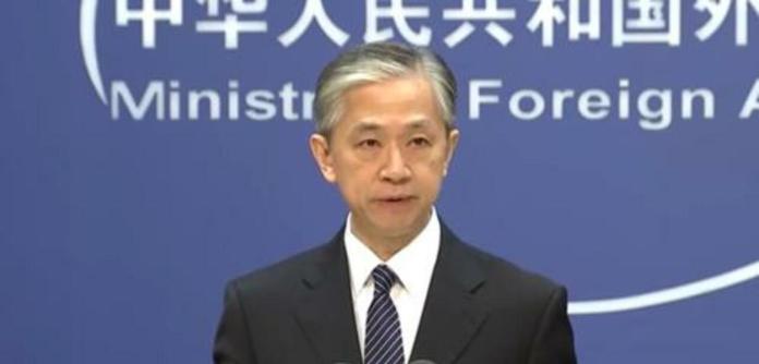 Wang Wenbin, porta-voz da chancelaria chinesa
