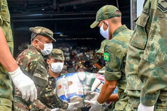 Forças Armadas auxiliam o povo brasileiro há 14 meses