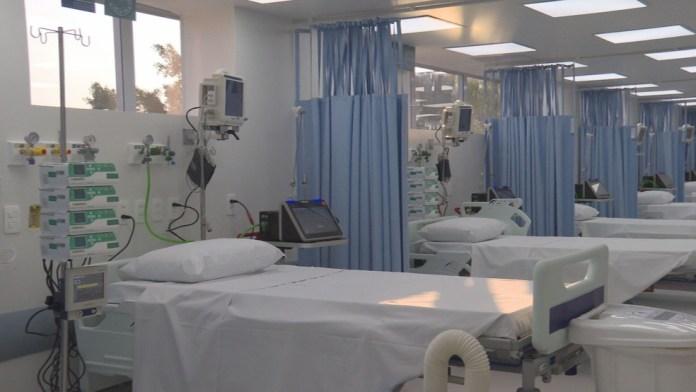 Leitos de UTI para pacientes com Covid — Foto: Reprodução/TV Globo