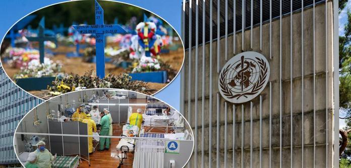 """OMS cita """"discussão urgente"""" sobre a pandemia"""