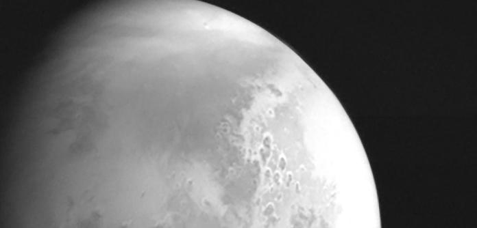 Foto de Marte tirada pela sonda Tianwen-1