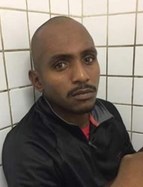 Rafael Nascimento da Silva é investigado por coagir a equipe de reportagem no ES. Ele possui mandando de prisão em aberto por homicídio — Foto: Divulgação/Polícia Civil
