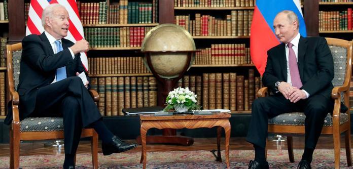 Biden e Putin conversam em Genebra