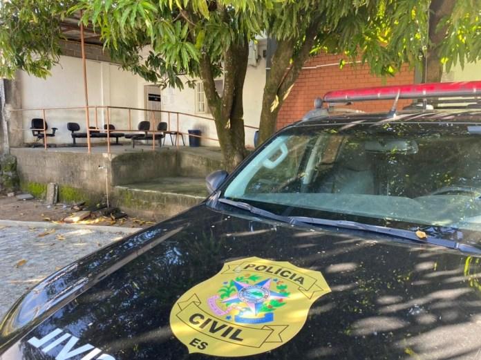 Polícia Civil prendeu o suspeito de tentativa de feminicídio em Presidente Kennedy, no ES — Foto: Reprodução/Thales Rodrigues