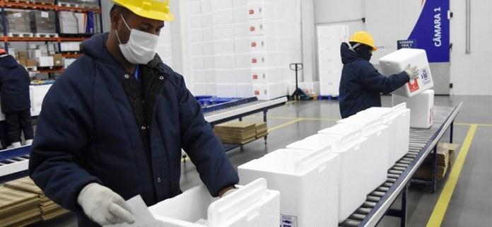 Mais 4 milhões de doses da vacina covid-19 são enviadas para todo o Brasil