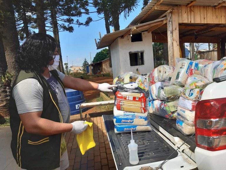 Quatro mil cestas básicas serão distribuídas a famílias indígenas da região Sul do país