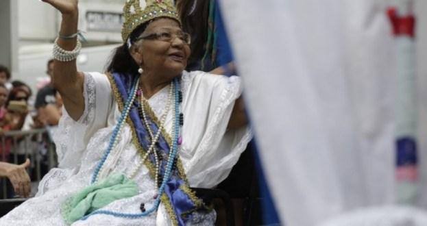 Dona Astrogilda, rainha do Congo do ES, morre aos 87 anos — Foto: Divulgação/ Prefeitura de Aracruz