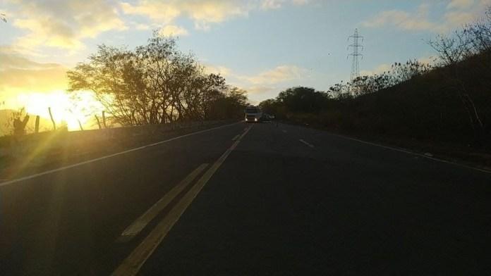 Motorista de carreta morreu em acidente na BR-259, em Baixo Guandu, no ES — Foto: Reprodução/PRF-ES
