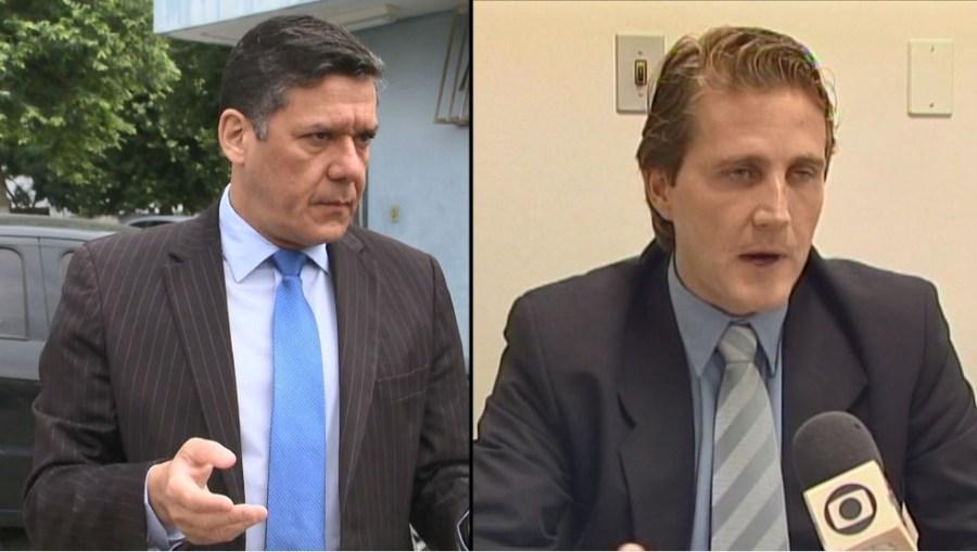 Juízes Alexandre Farina e Carlos Gutmann