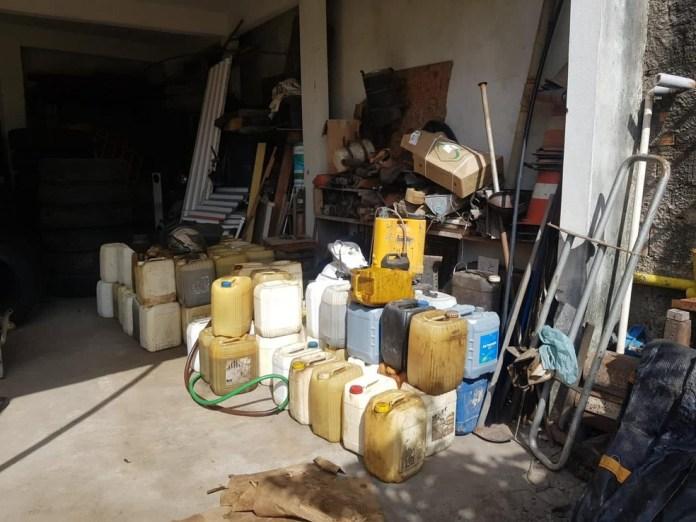 Polícia prende empresário que furtava e revendia combustível de prefeitura no ES — Foto: Divulgação/Polícia Civil