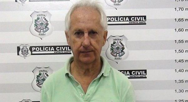 Réu Marcos Venicio Moreira de Andrade foi assessor da vítima por 19 anos — Foto: Divulgação/Polícia Civil