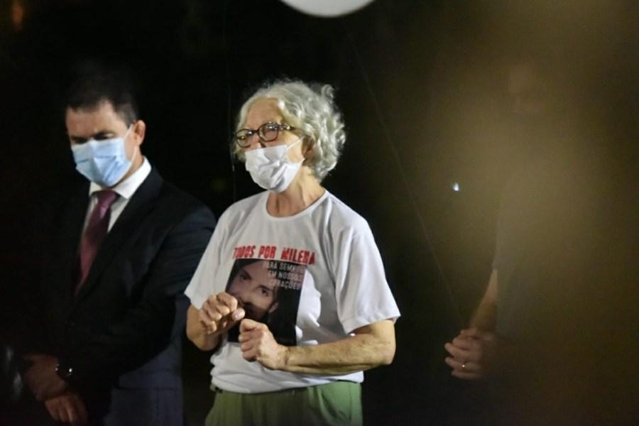 Mãe da médica Milena Gottardi, Zilca — Foto: Fernando Madeira/Rede Gazeta