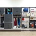Organized Living Garage Storage