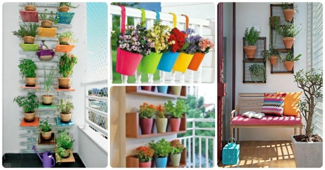 10 Gorgeous Flower Decoration Ideas For Small Balconies