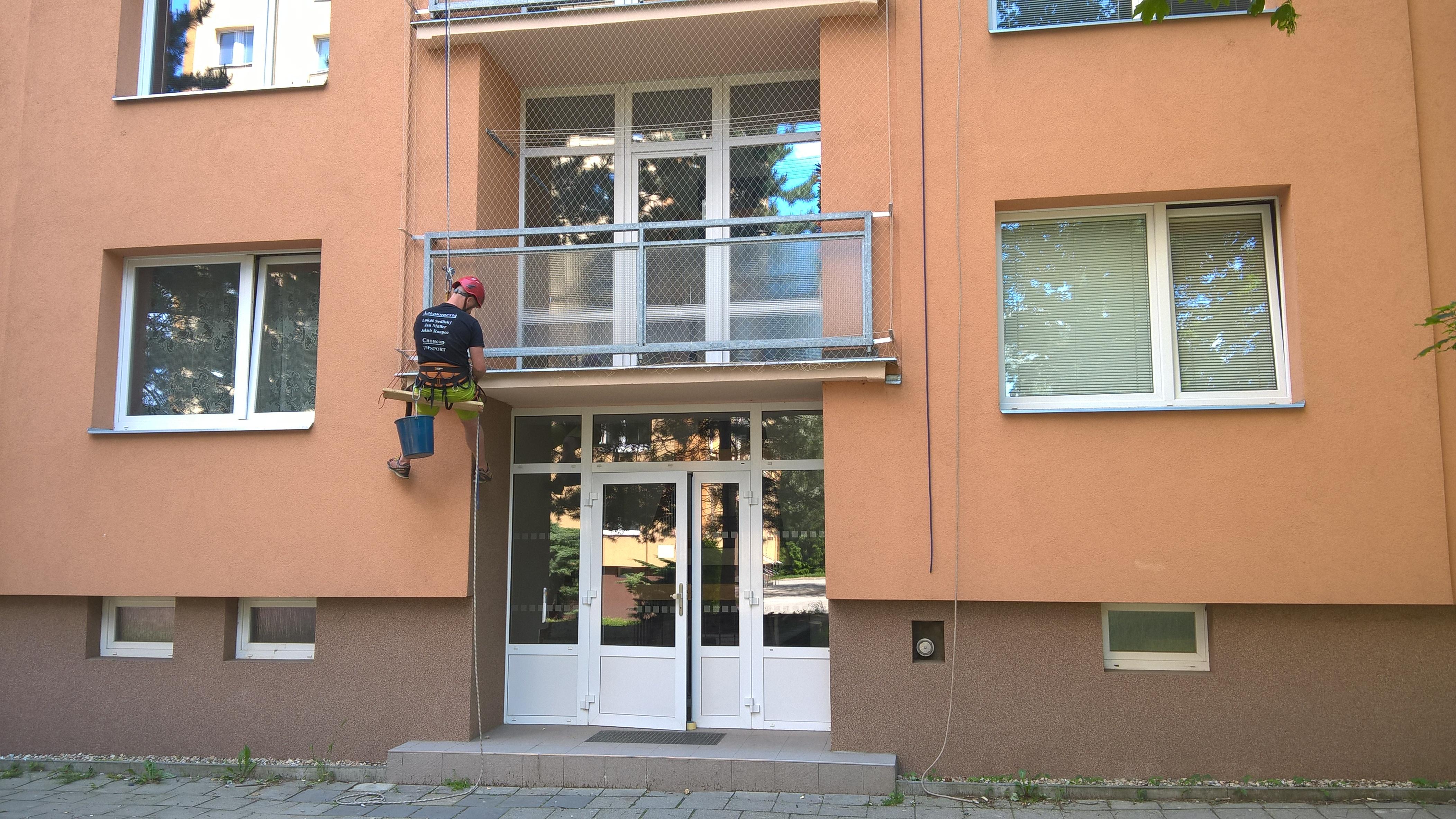 Balkonové sítě