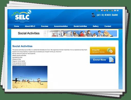 Sydney English Language Centre (SELC)
