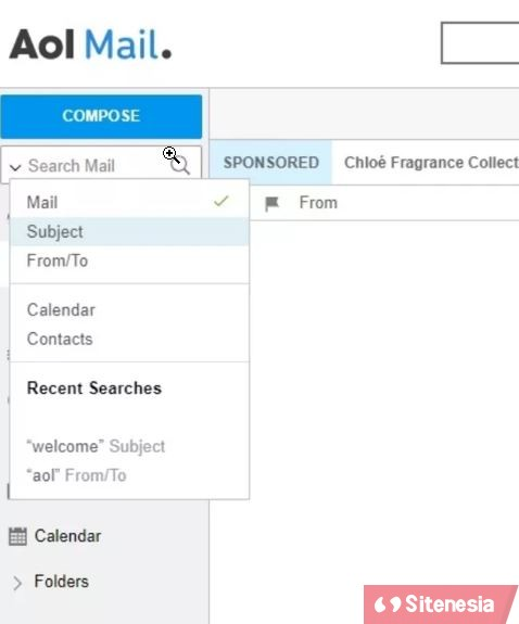 AOL Mail Cara Mencari Search Email AIM atau AOL Mail