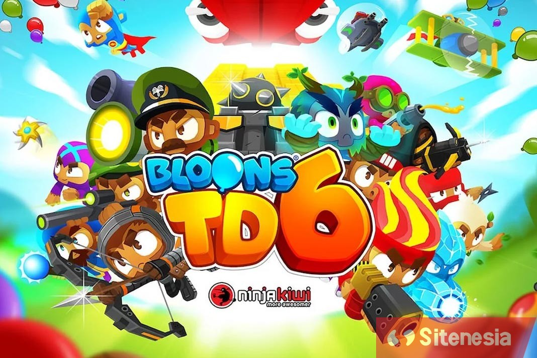 Gambar Cover Game Download Bloons TD 6 MOD APK Versi Terbaru Unlimited Money Dan Unlocked All Hack Gratis Untuk Android