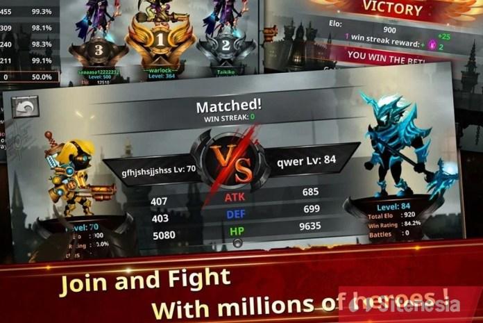 Gambar Gameplay Stickman Legends MOD APK Download Terbaru
