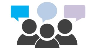 Ilustrasi Percakapan Dalam Internet Sebagai Gambar Percakapan Dengan Google Yang Tidak Private