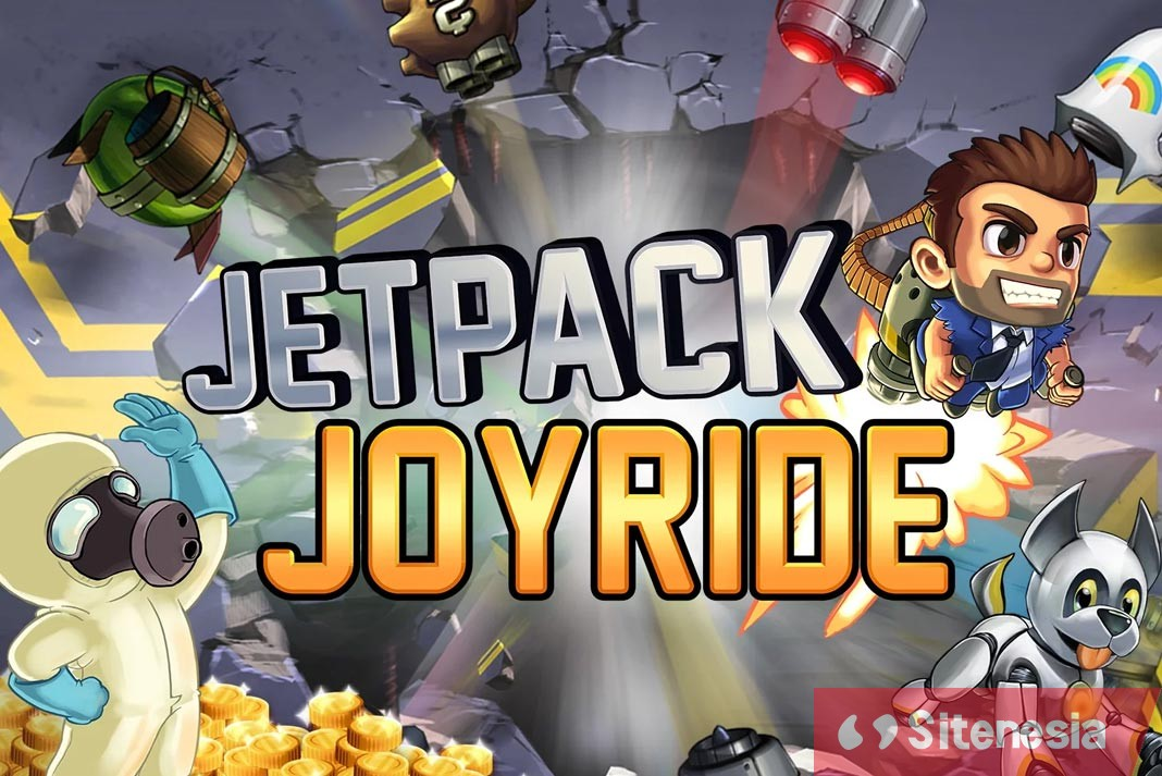 Gambar Cover Game Download Jetpack Joyride MOD APK Versi Terbaru Unlimited Coins Hack Gratis Untuk Android