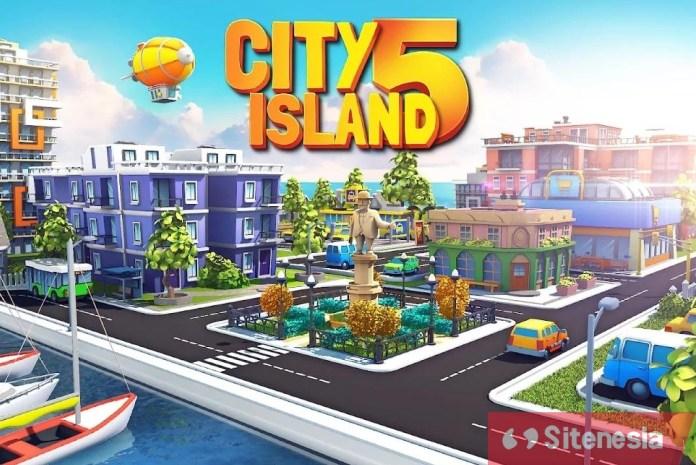 Gambar Cover Download City Island 5 MOD APK Terbaru Untuk Android